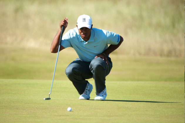 Tiger Woods at British Open 2013 Tracker: Day 2 Score, Highlights and Analysis