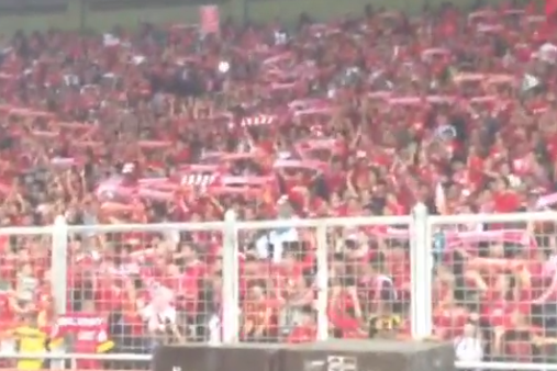 Instagram Vid: Indo Fans 'Fields of Anfield Road'