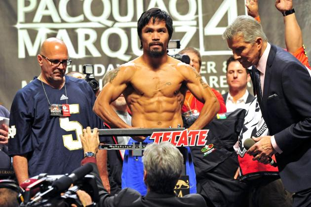 Pacquiao Dares Mayweather, Says Marquez Shot Lucky