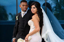 Browns' Joe Haden and New Wife Sarah Mahmoodshahi Talk