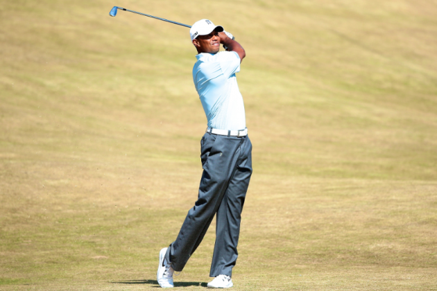 Tiger Woods at British Open Golf 2013: Day 2 Recap and Twitter Reaction