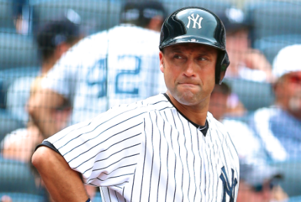 New York Yankees Place Derek Jeter Back on DL with Quad Injury