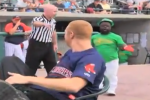 Watch: Scalabrine Chases Angry Leprechauns at Baseball Game