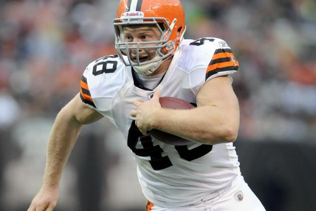 Is Browns Fullback Owen Marecic in a Battle for His Job?
