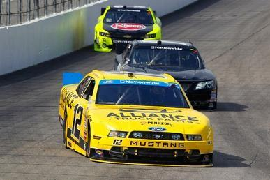 Joey Logano Hoping to Break Up NASCAR Nationwide Party