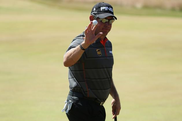 Lee Westwood in Contention at a Major Once Again