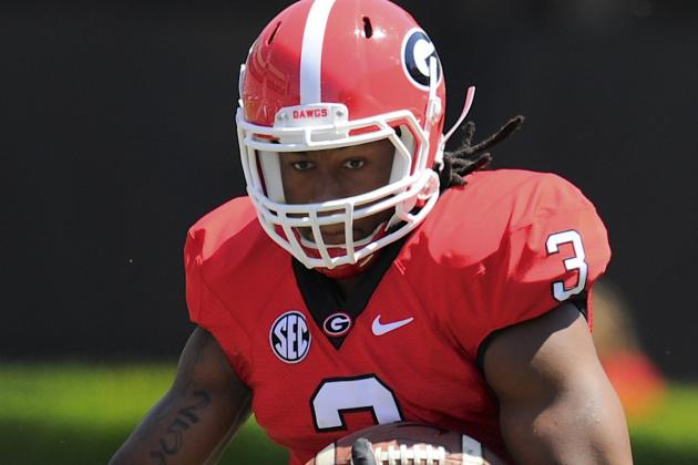 Georgia's Murray, Gurley Named to Walter Camp Watch List