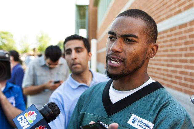 DeSean Jackson Joins Debate Desk