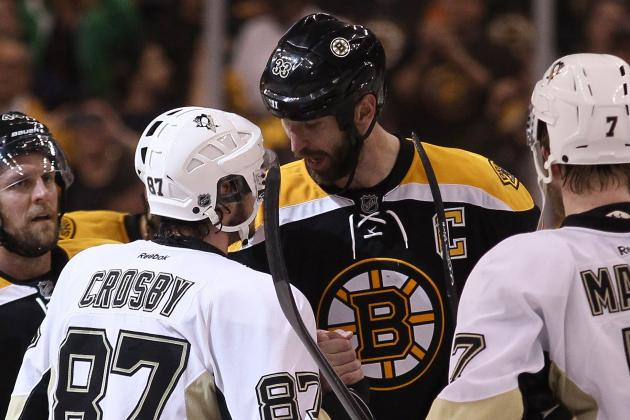 Sidney Crosby Says Punch from Zdeno Chara 'Part of the Game'