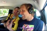 Dirk Busts Out Karaoke Skills in the Car