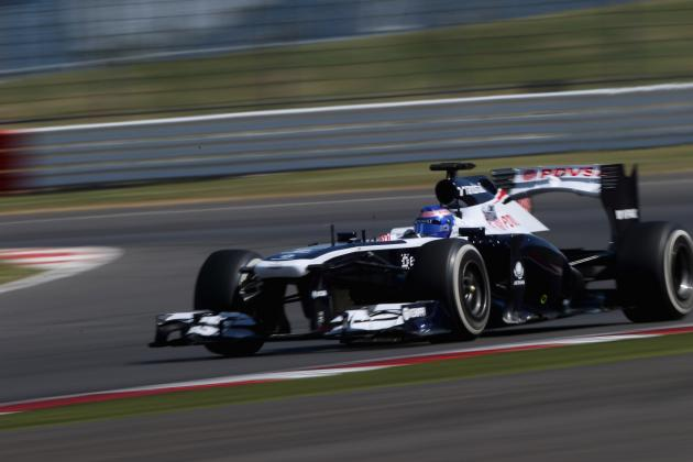 Formula 1: Times from Day 3 of the 2013 Young Driver Test at Silverstone