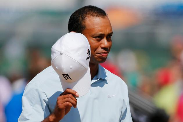 A 'Clinic' His Irons, a Major Chance for Tiger Woods