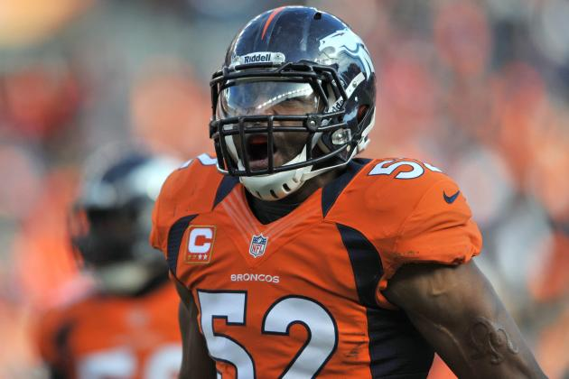 Wesley Woodyard Seeking New Contract with Denver Broncos