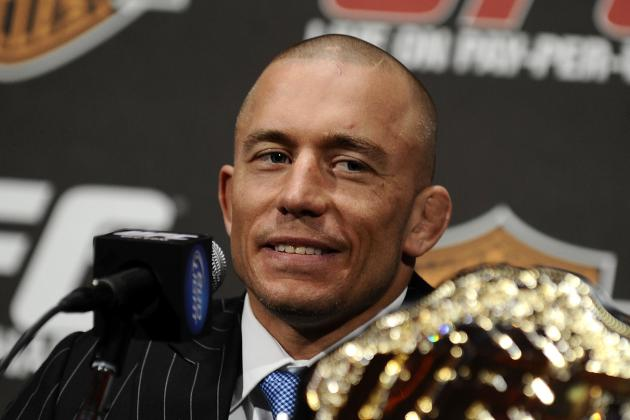 Jon Jones vs. Georges St-Pierre: Which UFC Champion Should Be the New P4P King?