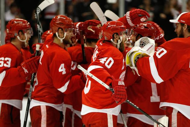 Wings Should Have Strong Presence at 2014 Olympics