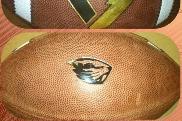 Photo: Oregon State Unveils New Game Ball For 2013