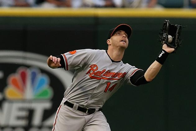 Orioles Place Nolan Reimold on DL Among 4 Roster Moves