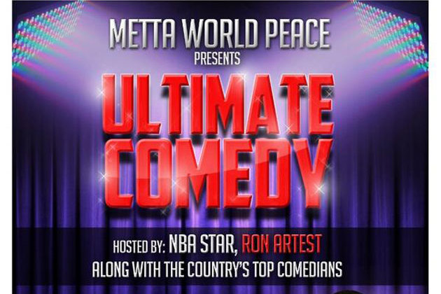 Metta World Peace Announces Plans for Second 'Ultimate Comedy Tour'
