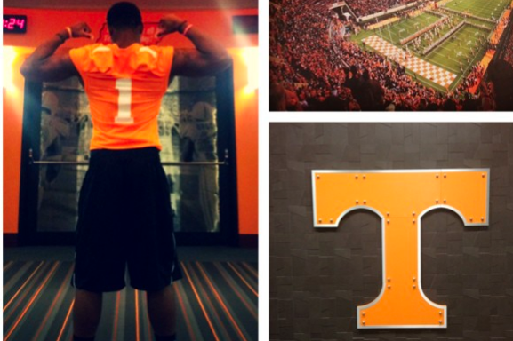 4-Star WR Commits to Vols on Instagram