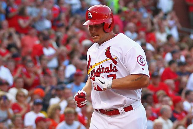 Matt Holliday Remains out of Lineup with Hamstring Injury