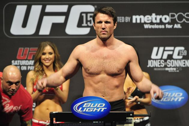 Chael Sonnen: Anderson Silva Will Never Beat Chris Weidman