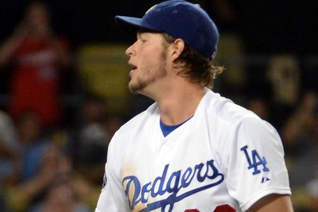 GIFs: Clayton Kershaw's Curve vs. Whiffle-Ball Curve