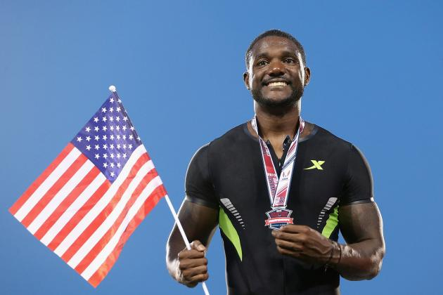 Gatlin Wins 100 Meters at Herculis Meeting