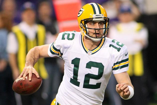 Aaron Rodgers Continues Packers' String of QB Durability