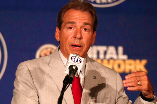 Nick Saban's Point About Top 5 Conferences Only Playing Each Other Is Spot On