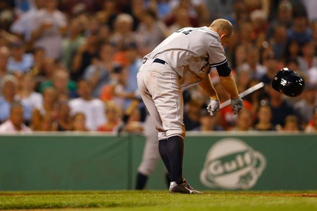 Twitter / matthewpouliot: Brett Gardner gets tossed for ...