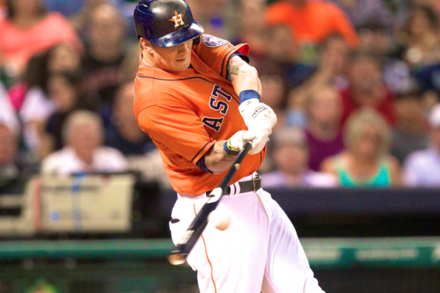 Brandon Barnes: Houston Astros Rookie Hits for Cycle vs. Mariners