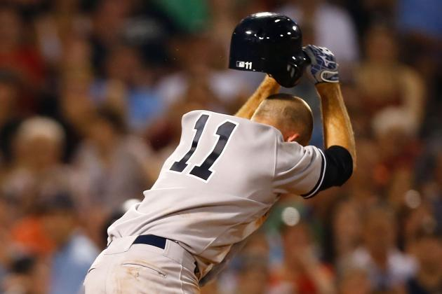 Brett Gardner Gets Ejected in 4-2 Yankees Loss to Boston