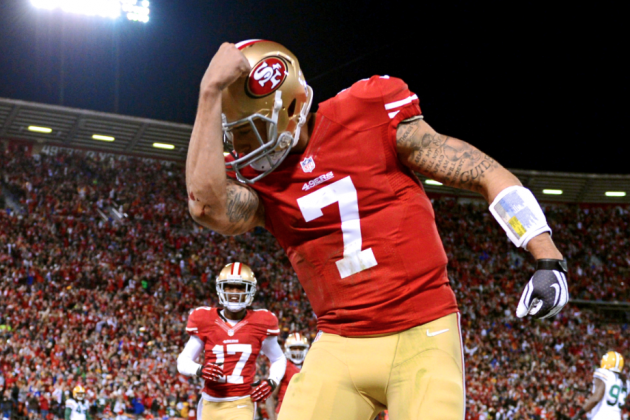 Colin Kaepernick Passes Robert Griffin III as NFL's Best-Selling Jersey