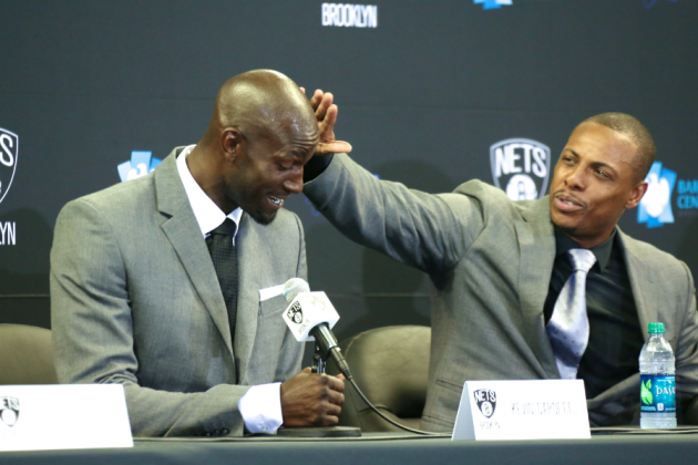 Should Celtics Fans Be Mad Paul Pierce Talked Kevin Garnett into Nets Trade?
