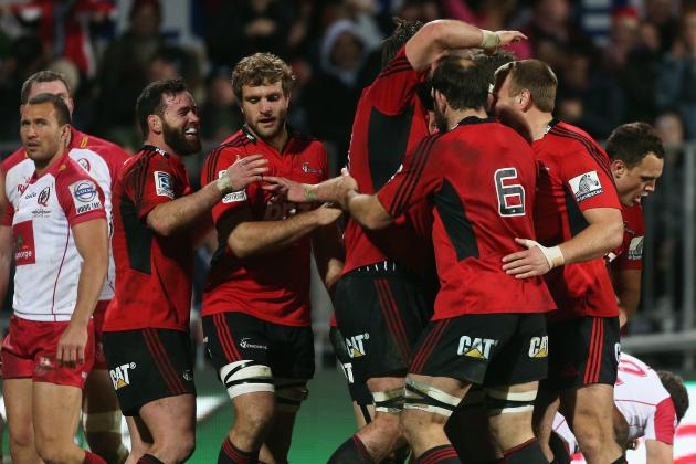 Crusaders Crush Faltering Reds