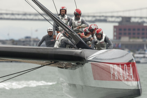 Luna Rossa Throw Rule Book at Artemis, Weather