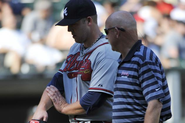 Paul Maholm Exits Start with Sprained Left Wrist
