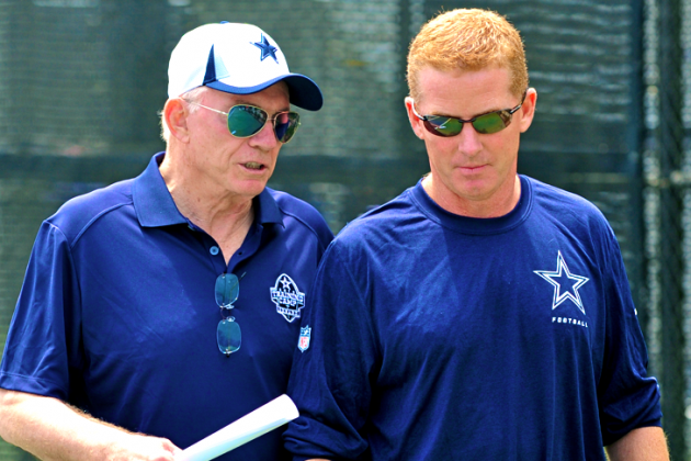 Jerry Jones Claims Jason Garrett Isn't on Hot Seat This Season