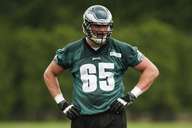 Eagles and 1st-Round Pick Lane Johnson Agree to 4-Year Deal