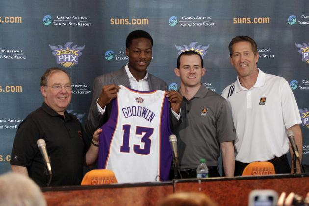 Goodwin Shines, Suns Advance to Semis
