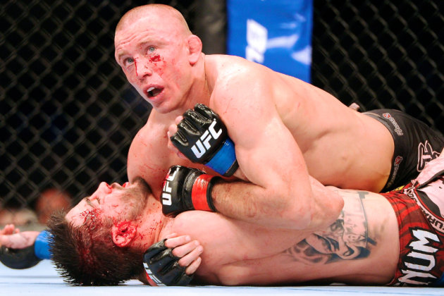 UFC 167 Will Provide Welterweight Champion Georges St-Pierre with a Break
