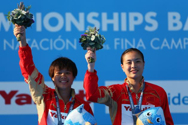Diving World Championships 2013 Results: China's Women's Gold Secures New Record