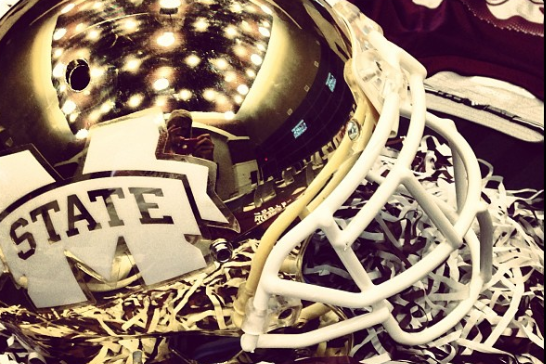 Mississippi State Could Be Wearing New Gold Helmets for the Egg Bowl