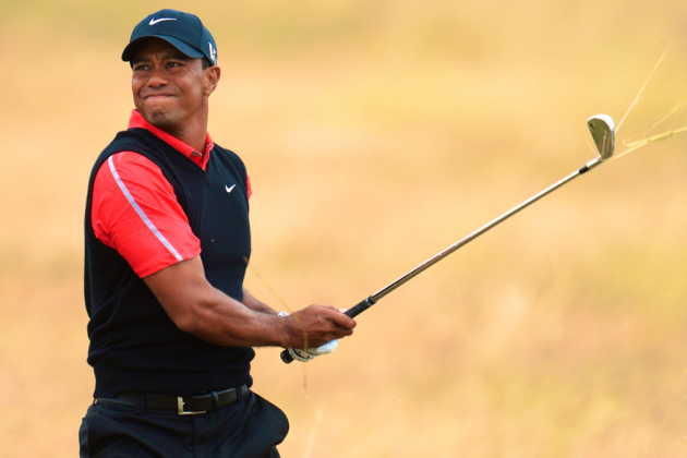 Tiger Woods at British Open Golf 2013: Day 4 Recap and Twitter Reaction
