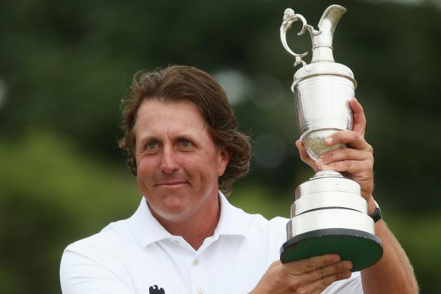 Phil Mickelson Says Win 'Most Fulfilling Moment of Career'