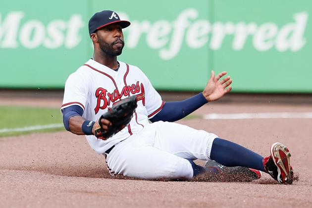 Jason Heyward to Play Centerfield Until B.J. Upton Returns