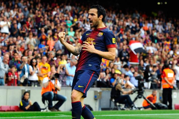 Manchester United Transfer Rumors: Big Money Bid for Cesc Fabregas a Great Move