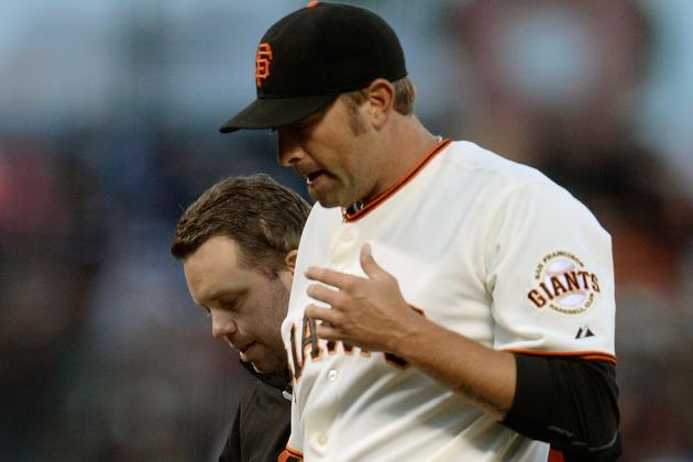 Giants Place Affeldt on DL; Recall Machi