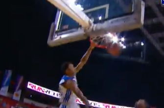 Kent Bazemore with Another Highlight Dunk at Summer League