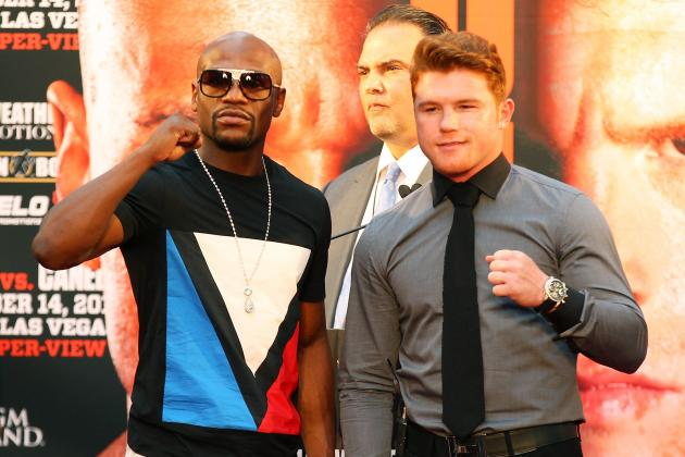 Floyd Mayweather's Bout with Canelo Alvarez Will Be Toughest of His Career